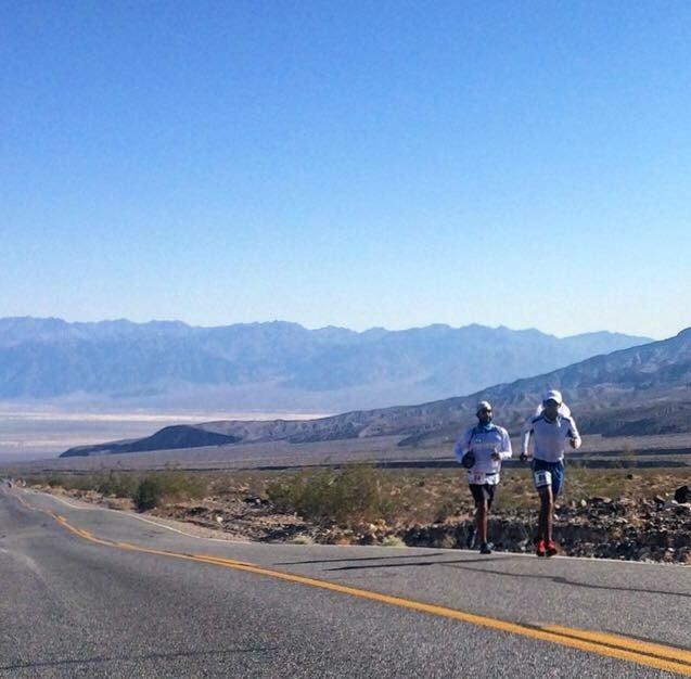 Pablo D Blanco Death Valley Badwater 135 Ultra Marathon