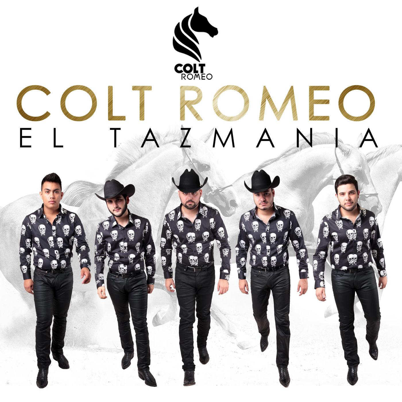 Colt Romeo – El Tazmania (Estudio 2016) portada