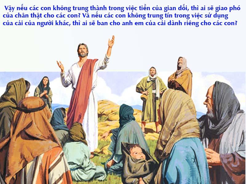 Thánh Kinh bằng hình: CN XXV TN C