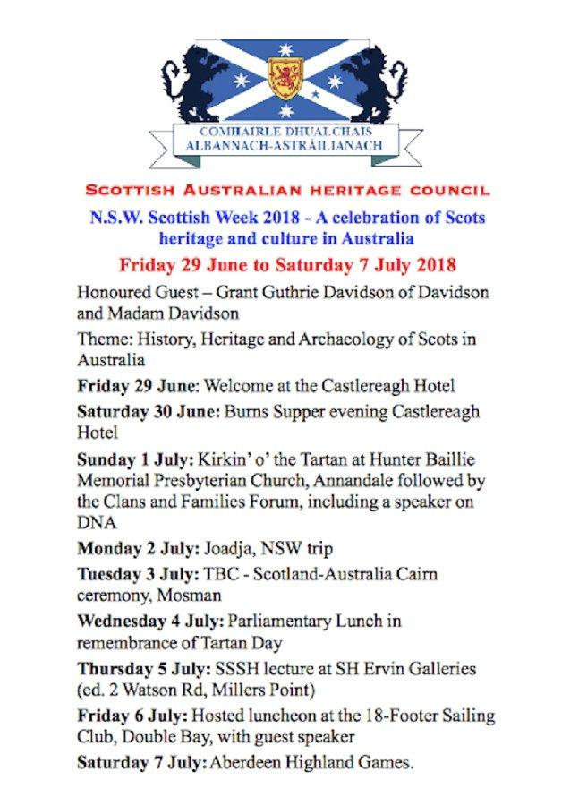 SAHC Week 2018