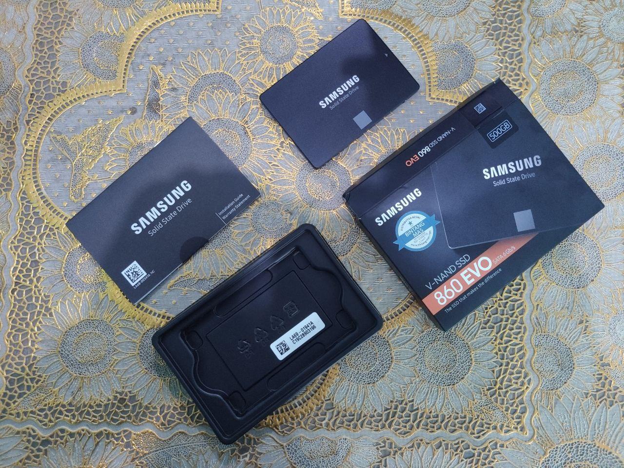 Samsung V-Nand SSD 860 EVO 500GB