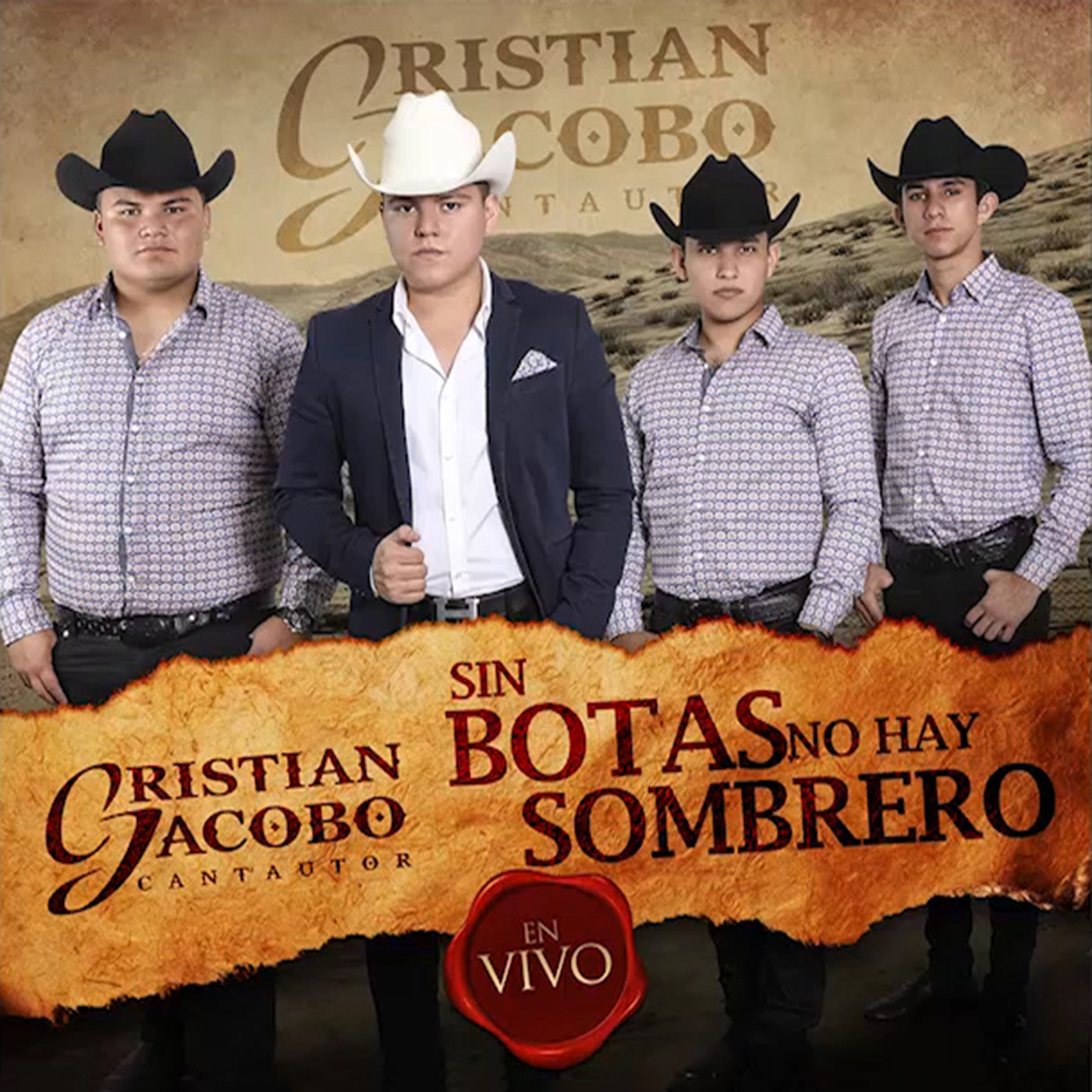 Cristian Jacobo – Sin Botas No Hay Sombrero (Album 2016)