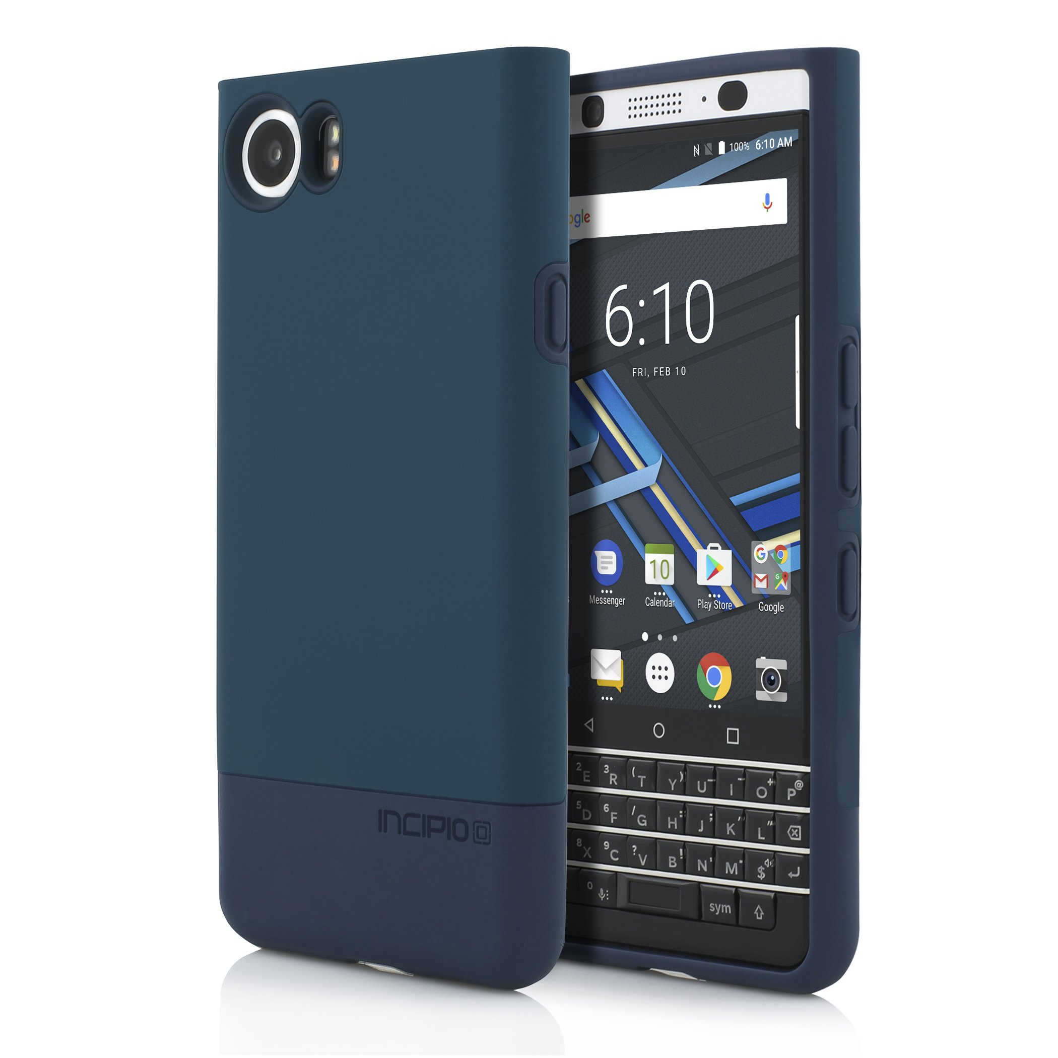 Incipio DualPro Case blue for BlackBerry KEYone