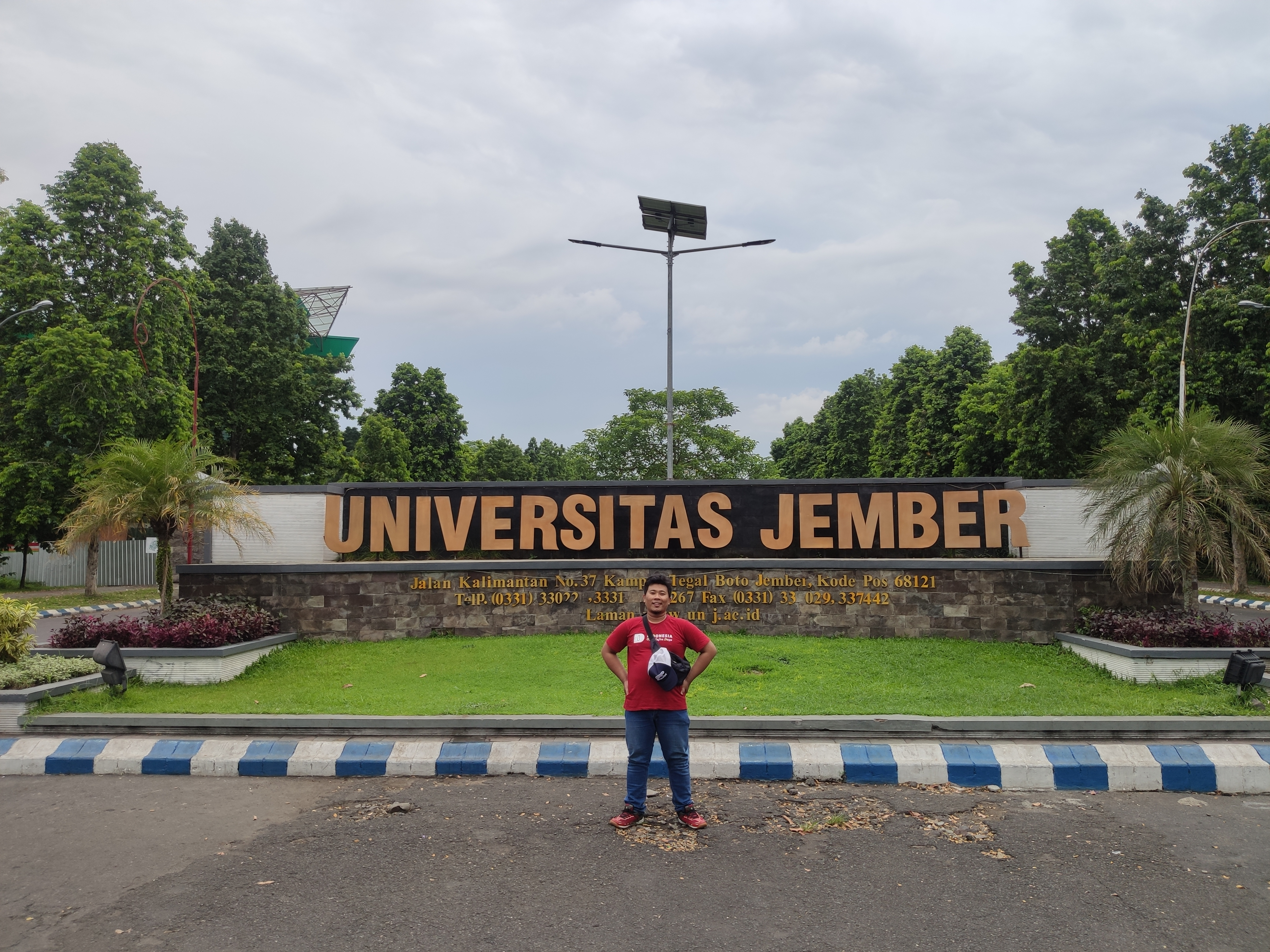 Mampir ke Universitas Jember
