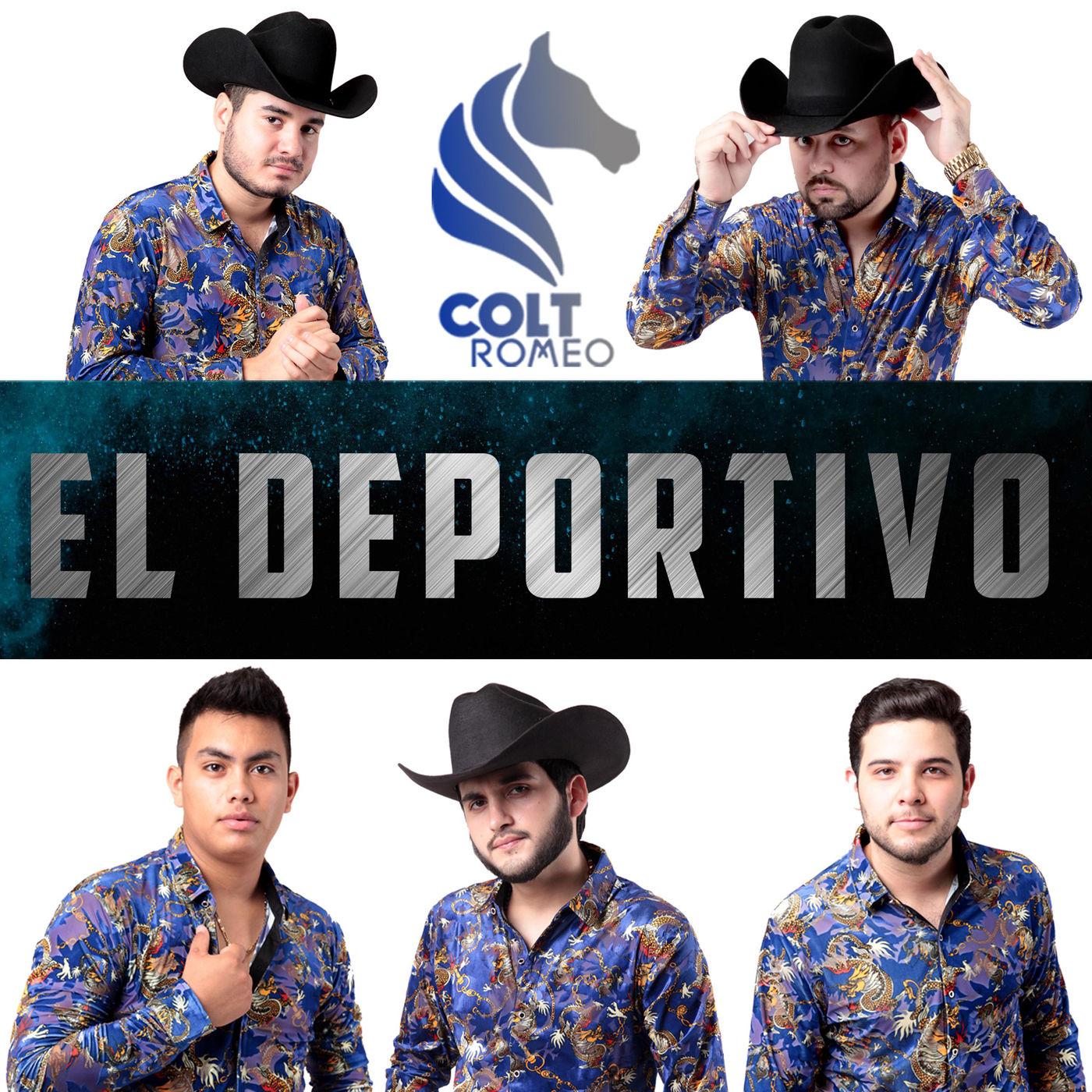 Colt Romeo – El Deportivo (Estudio 2016) portada