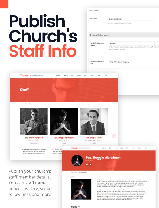 Tsiyyon - Responsive Gospel Church Theme