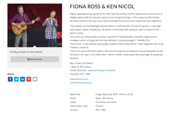 Fiona Ross Ken Nicol