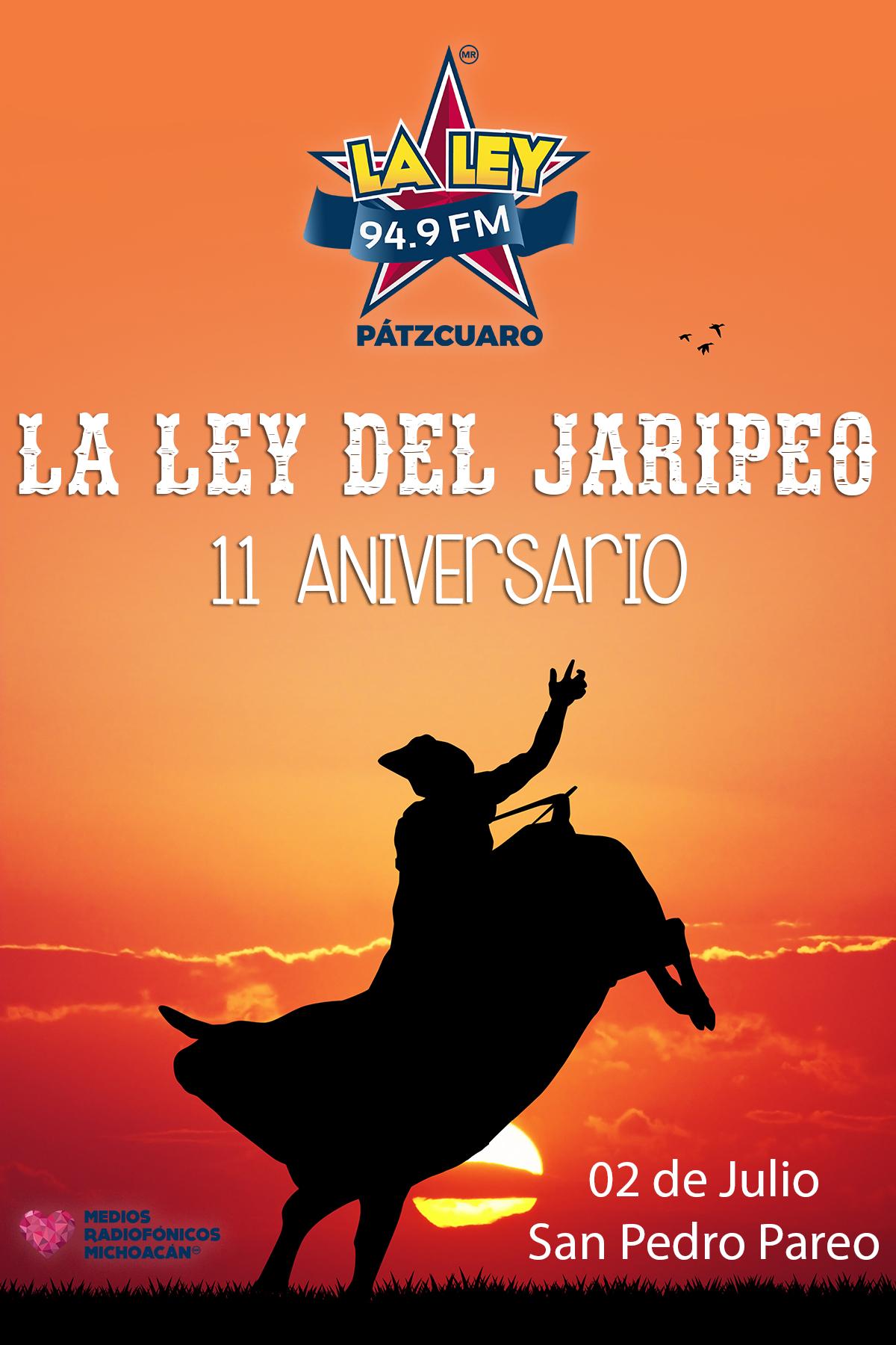 La Ley Del Jaripeo 11 Aniversario Radiomejor