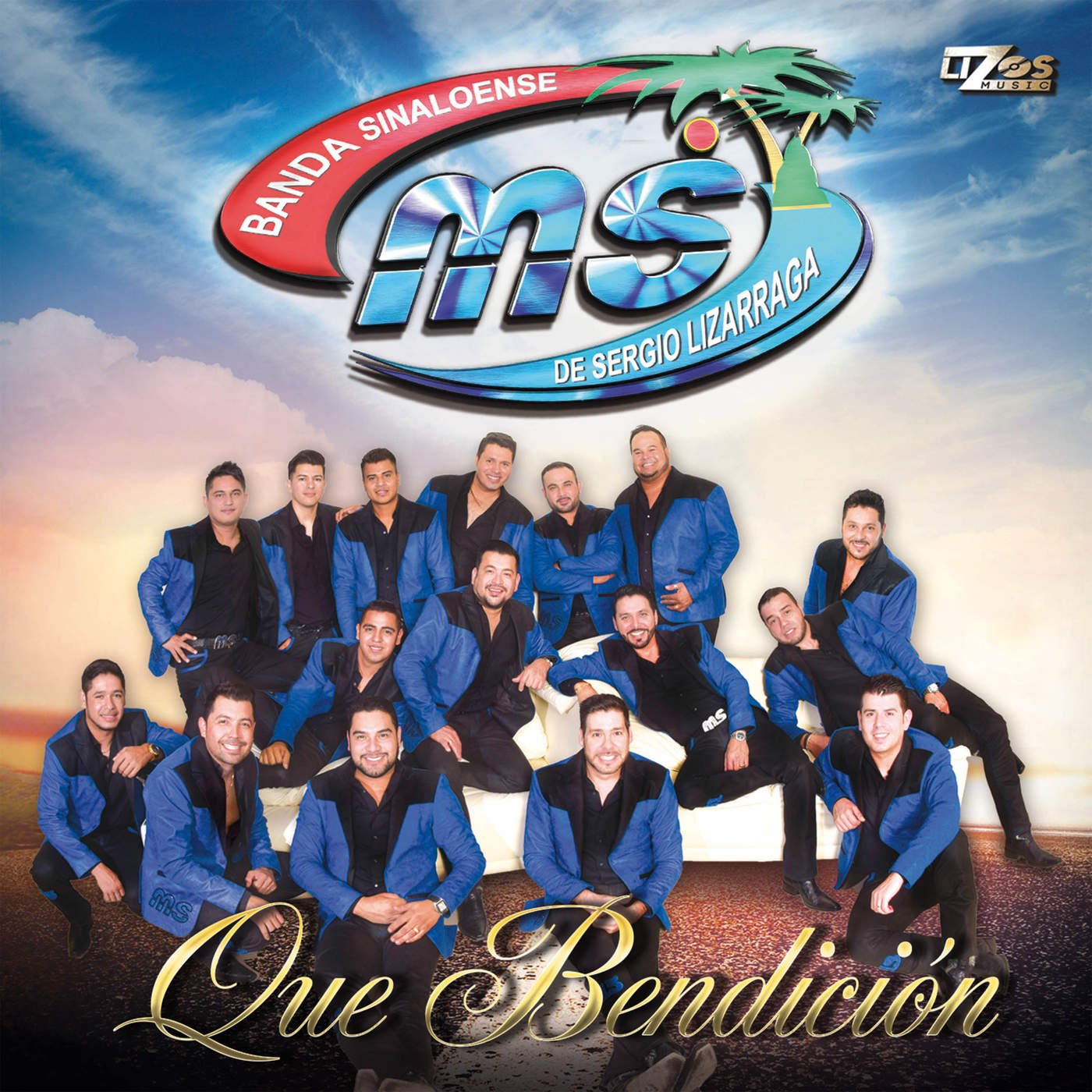 Banda MS – Que Bendición (Álbum 2015) portada