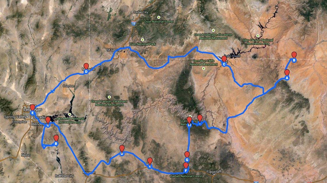 Map Of Arizona Strip.The Arizona Strip Famous Internet Skiers Earn Your Turns