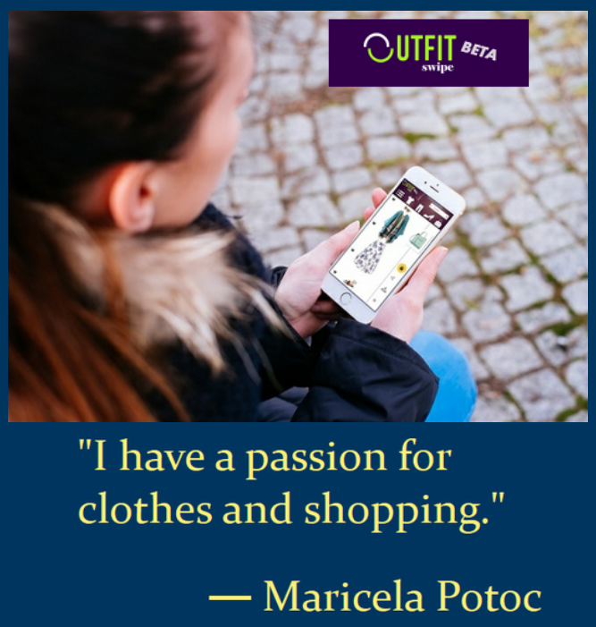 OUTFIT SWIPE shopping app