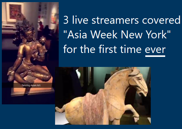 Asia Week NYC live streamed for the first time