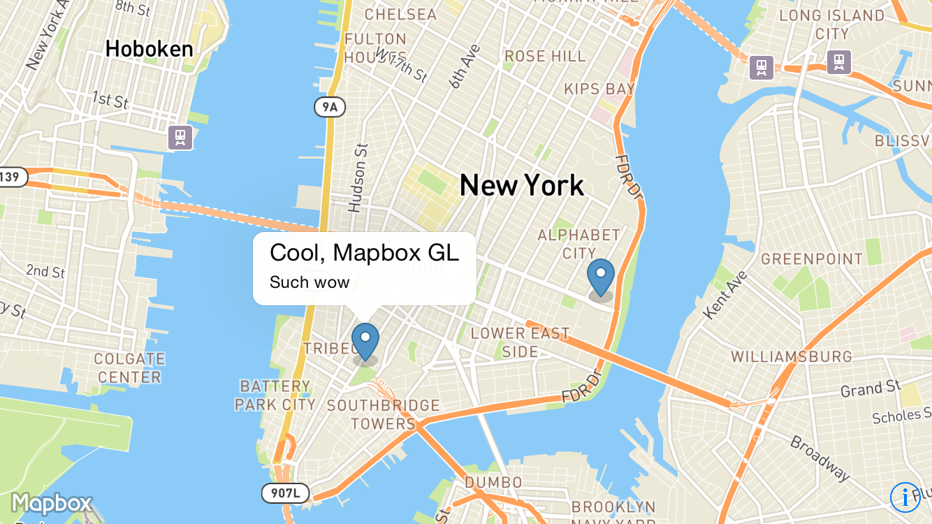 Reactnativemapboxgl - React us heat map