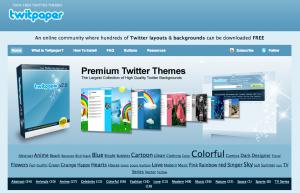 дизайн для твитера