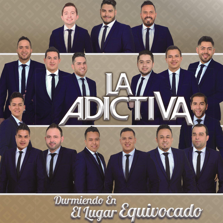 La Adictiva Banda San José de Mesillas – Durmiendo en el Lugar Equivocado (Álbum 2016) portada