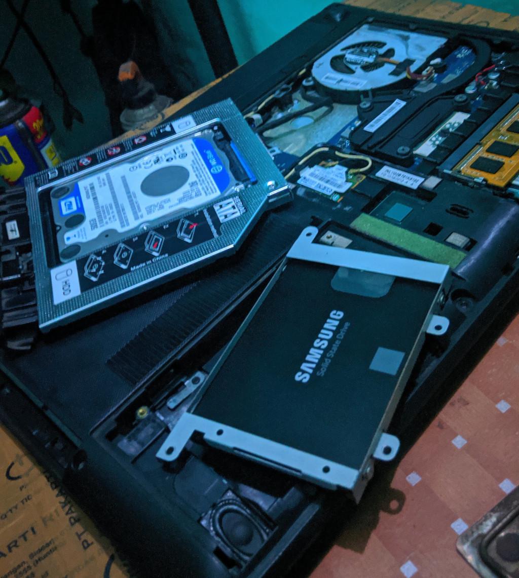 Lenovo G400s Setelah Digunakan 6 Tahun