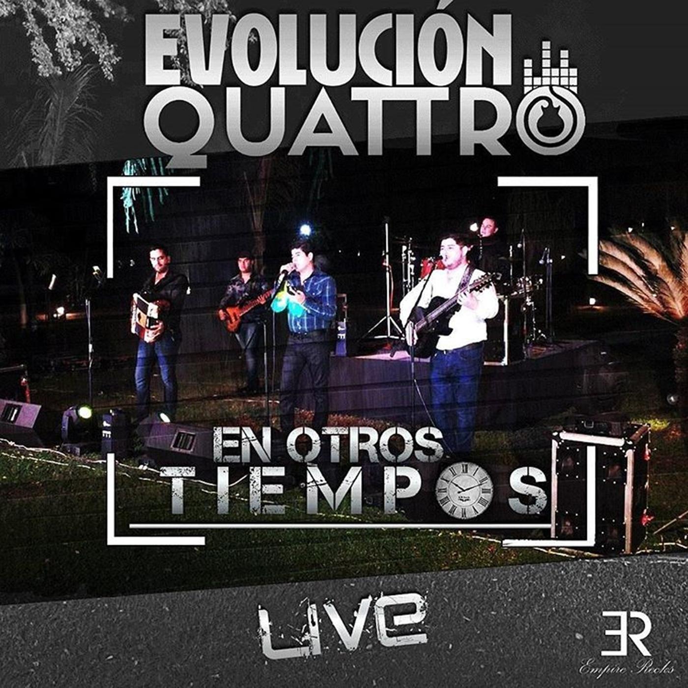 Evolución Quattro – En Otros Tiempos (Álbum 2016) portada