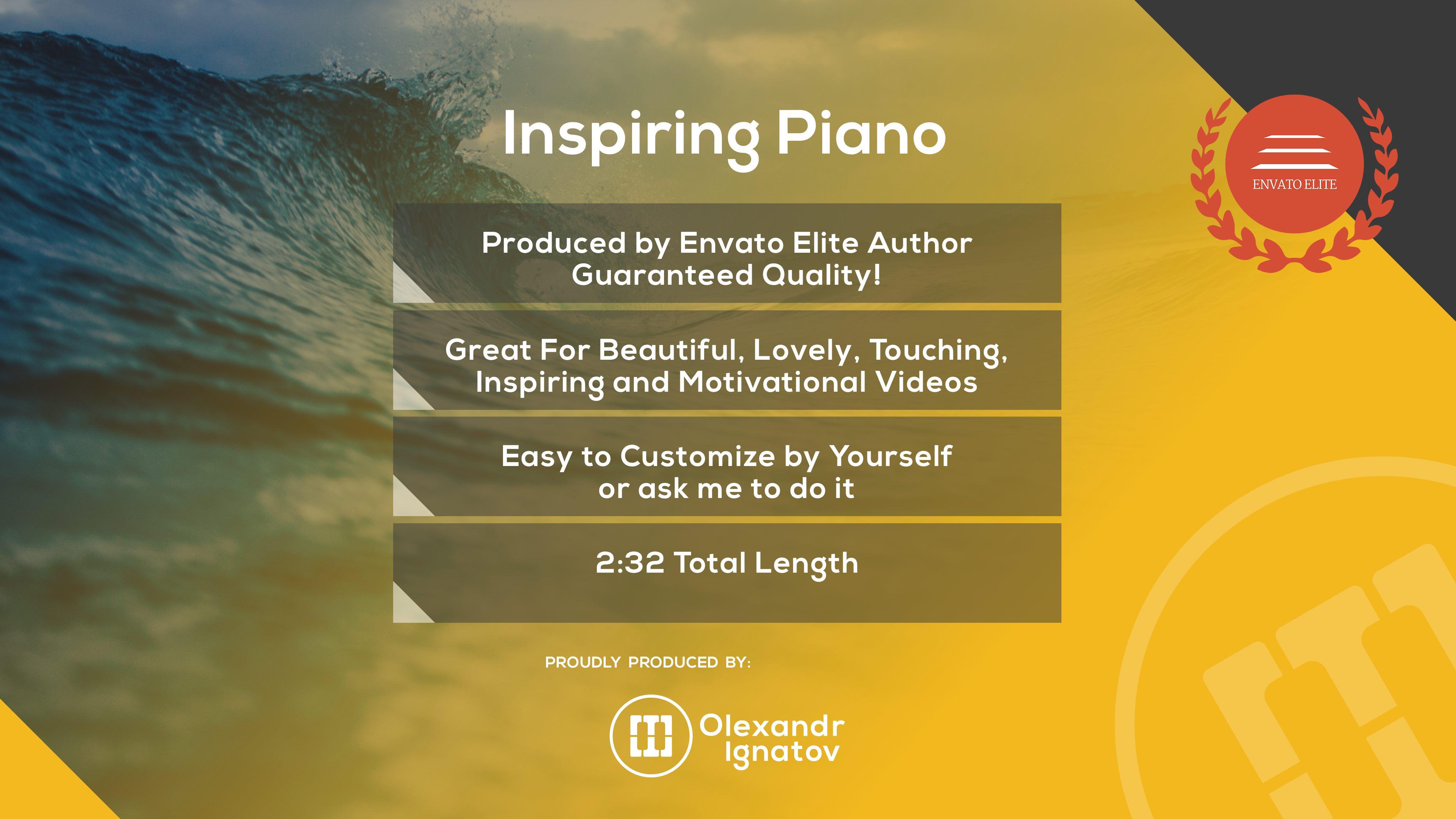 Emotional Cinematic Inspiring Piano - 4