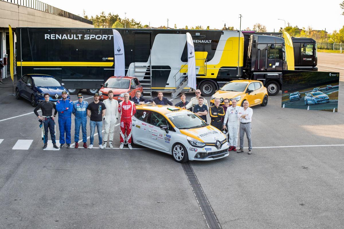 Circuito Modena : Renault clio cup press league. nellautodromo di modena le selezioni