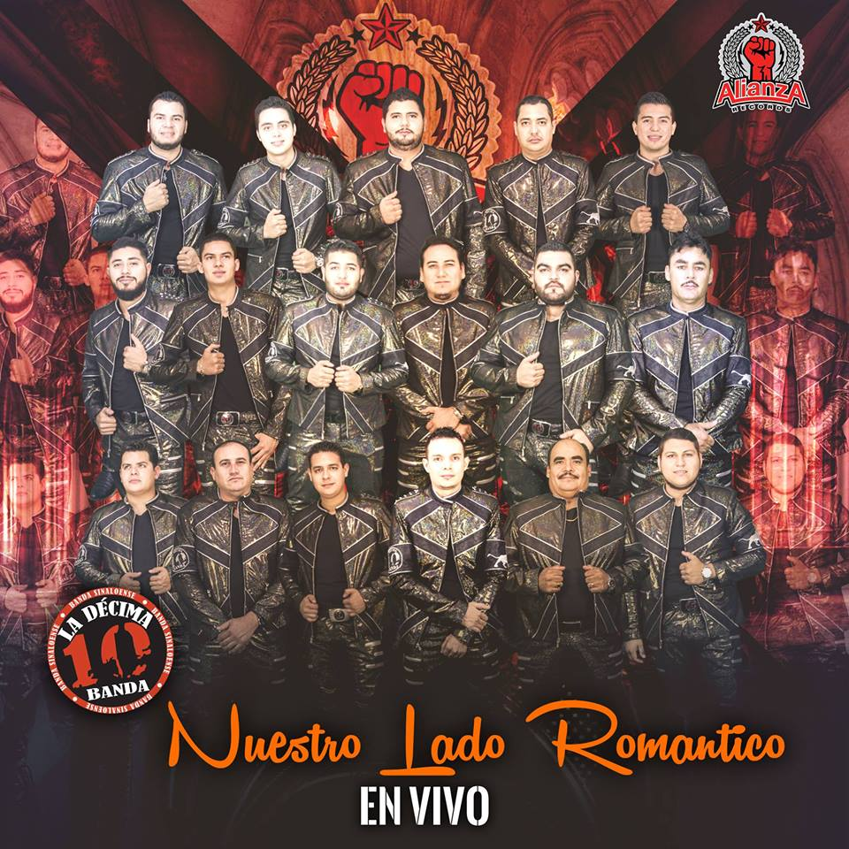 La Decima Banda – Nuestro Lado Romantico (En Vivo) (Álbum 2016) portada
