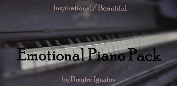 Emotional Piano Pack - 1