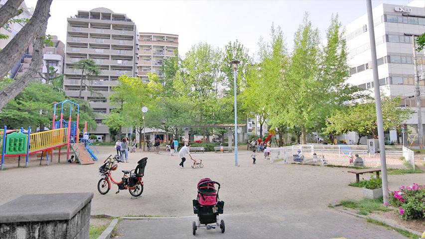 江戸堀公園