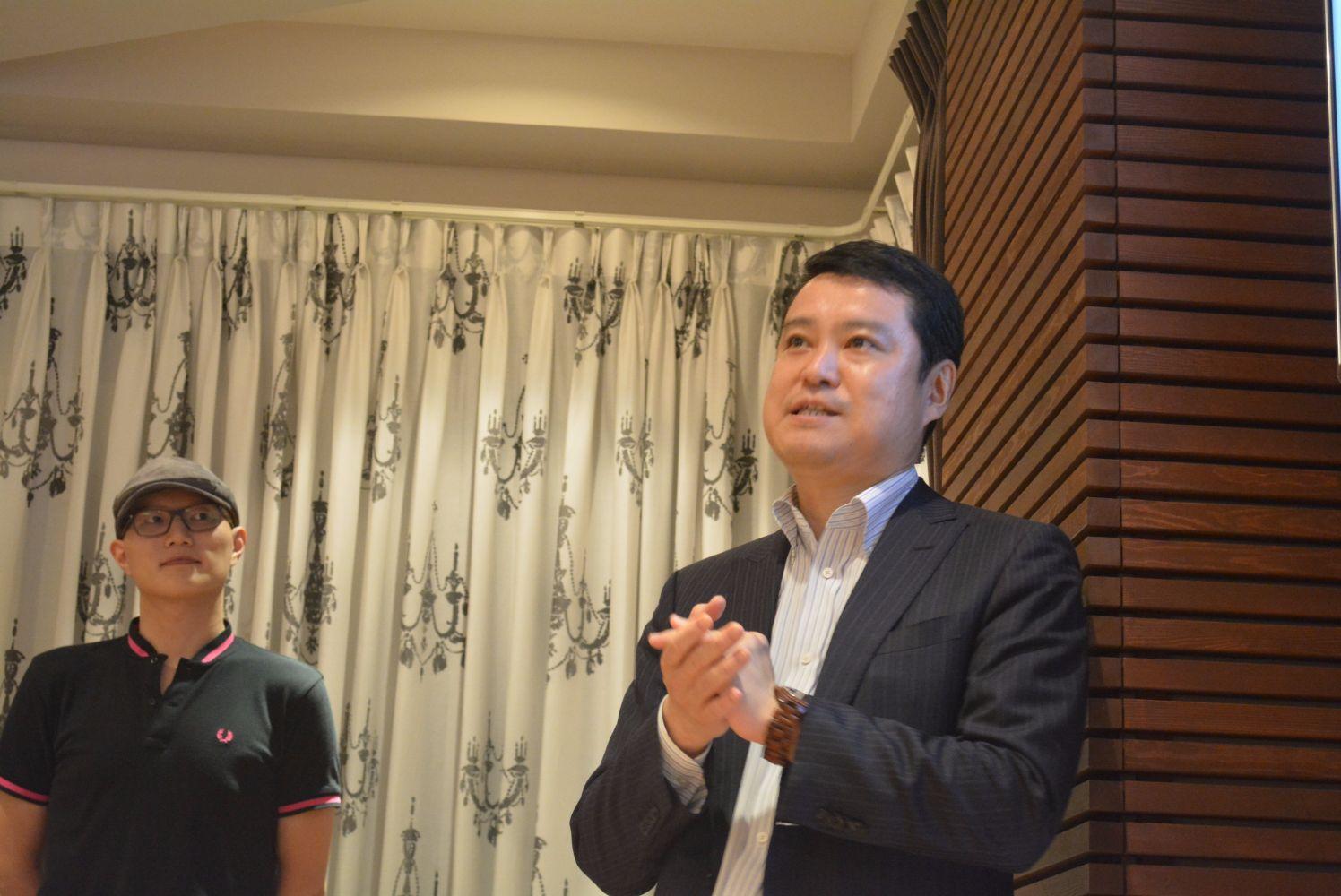 黒田さんと奥山さん
