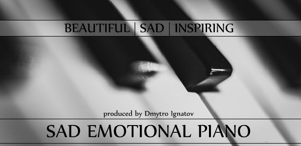 Sad Emotional Piano By DmytroIgnatov AudioJungle Classy Sad Emotional Pics