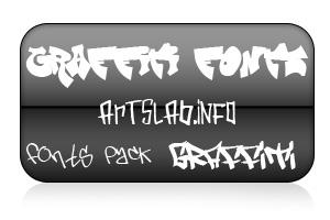 граффити шрифты для windows