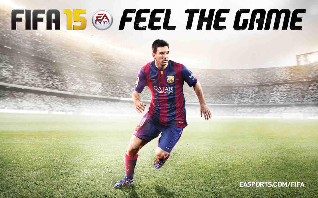 试玩了 FIFA 15