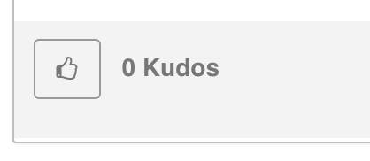 Screenshot of Kudos icon