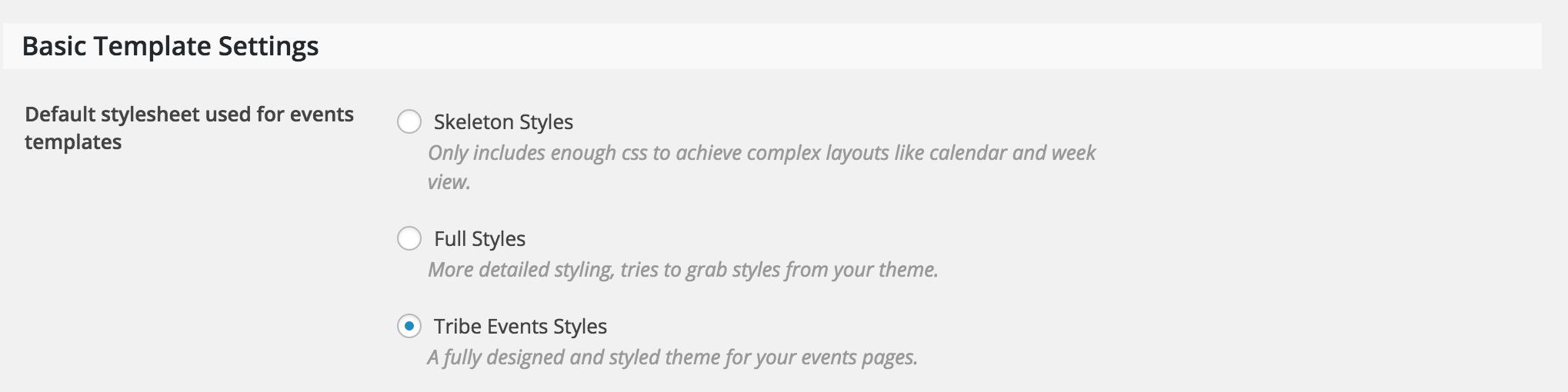Custom Css Needed The Events Calendar