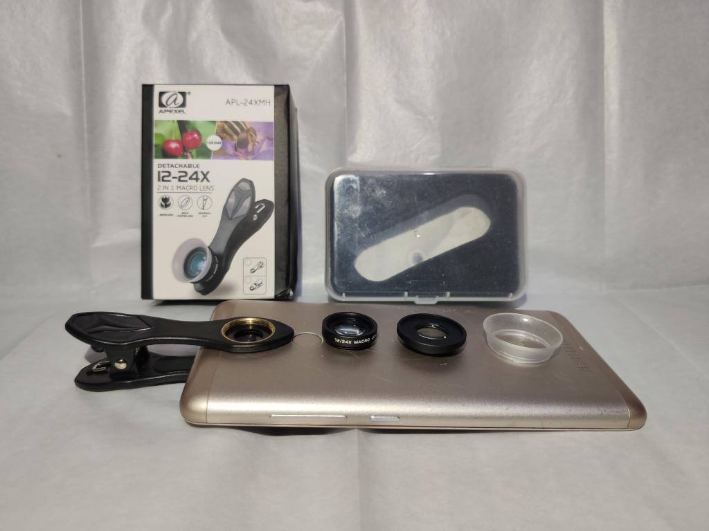 Ulas produk: lensa macro 12-24x Apexel