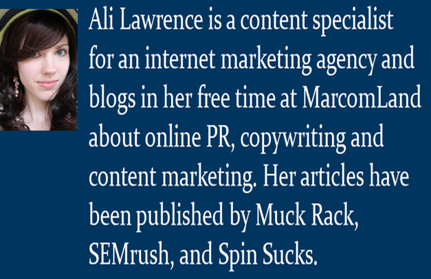 Ali Lawrence marketer mini bio