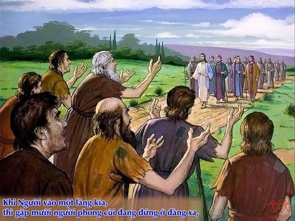 Thánh Kinh bằng hình: Chúa nhật 28 TN C.