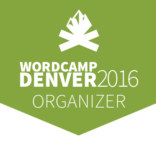 WordCamp Denver 2016 Organizer badge