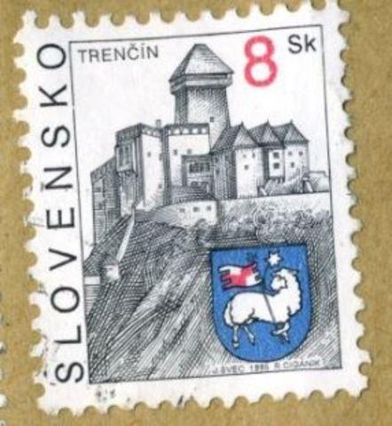 Slovensko stamp
