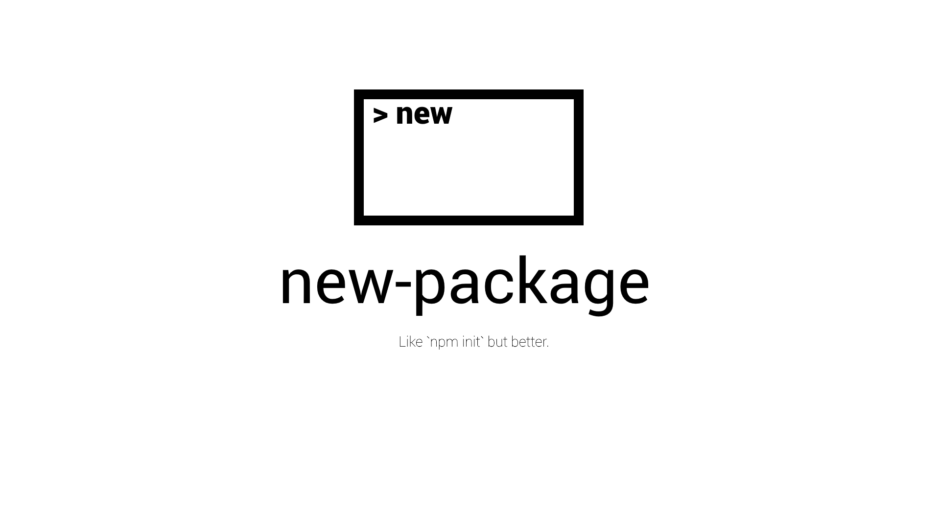 new-package