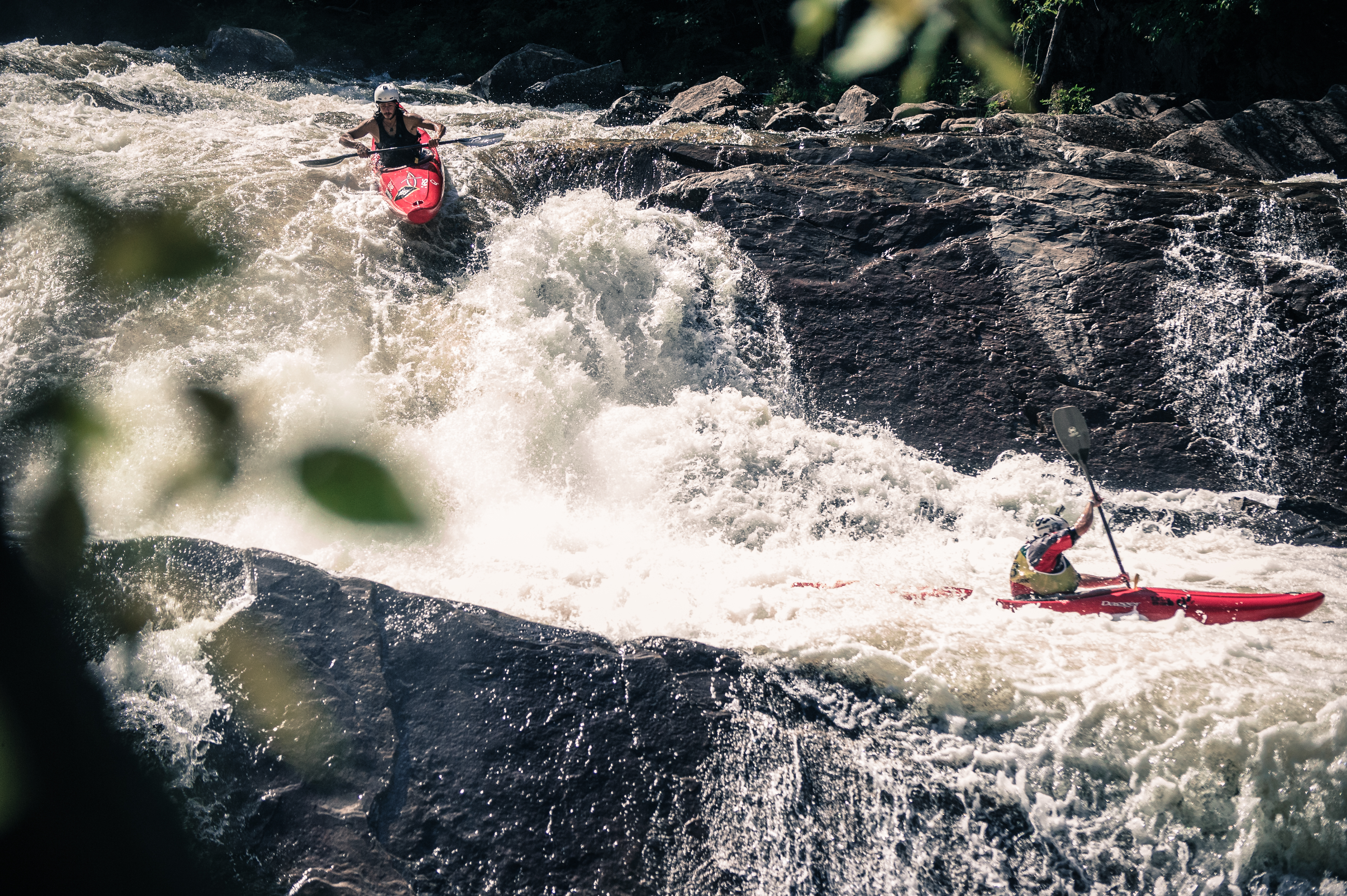 Whitewater Kayaking On The Raquette