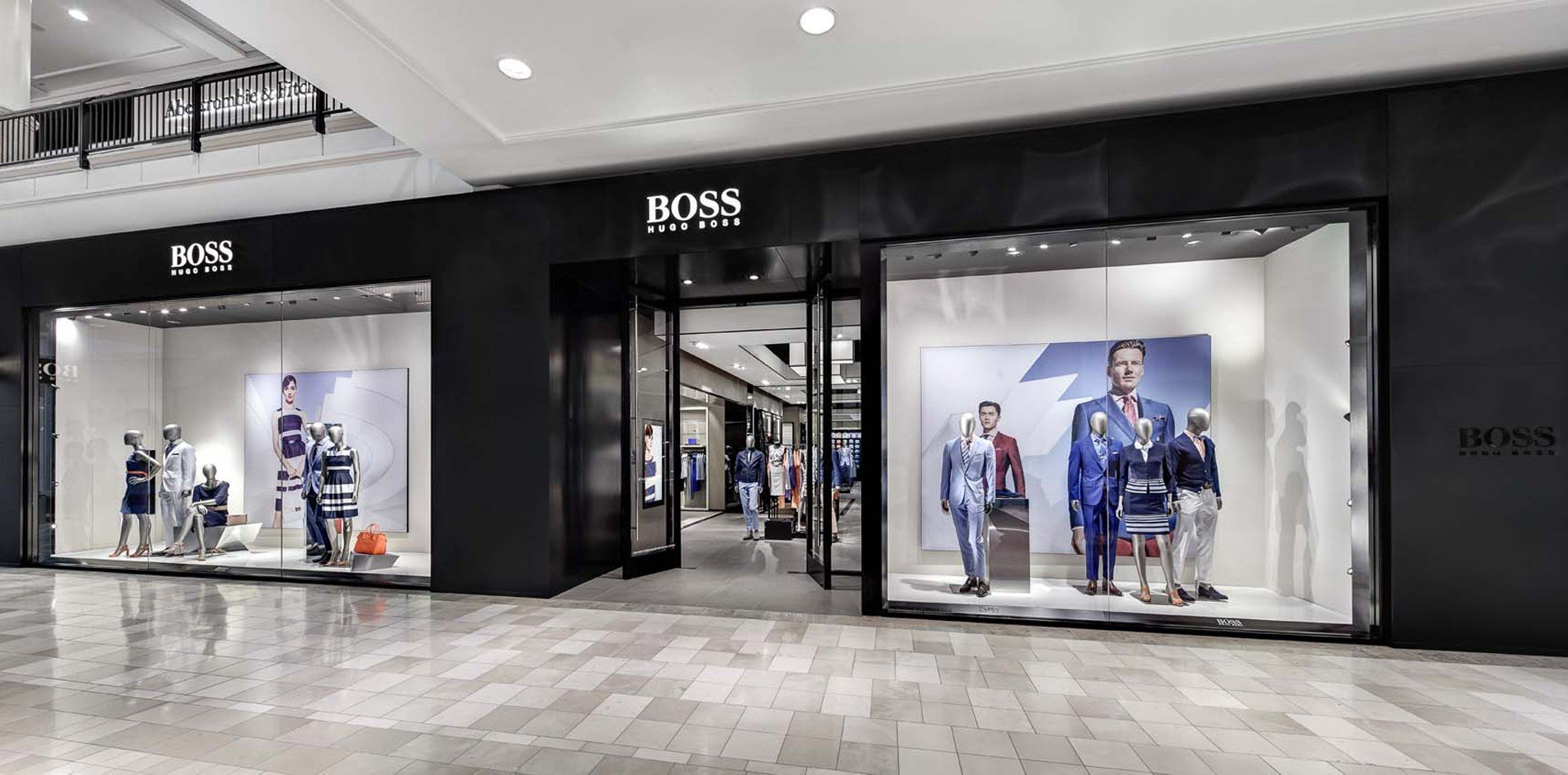 Hugo Boss sales increased online and in China