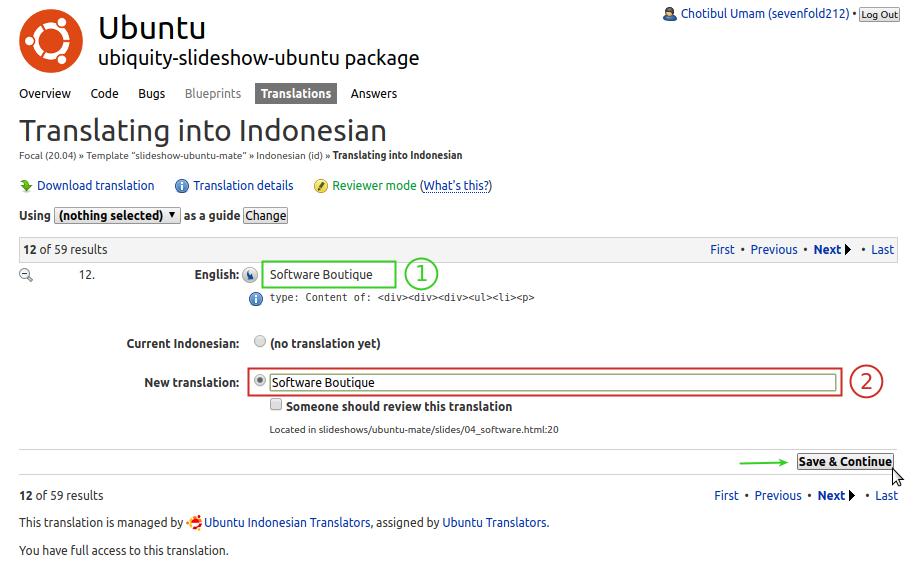 Panduan Singkat Penerjemahan Ubuntu