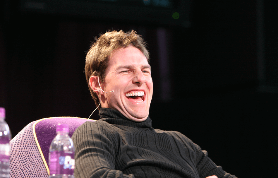laughing Tom Cruise meme
