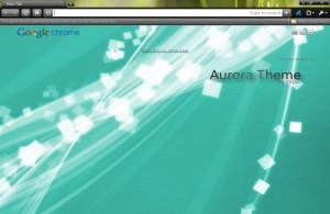 aurora grass тема для google chrome