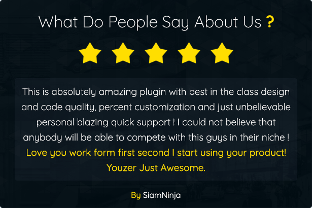 Youzer Review siamninja