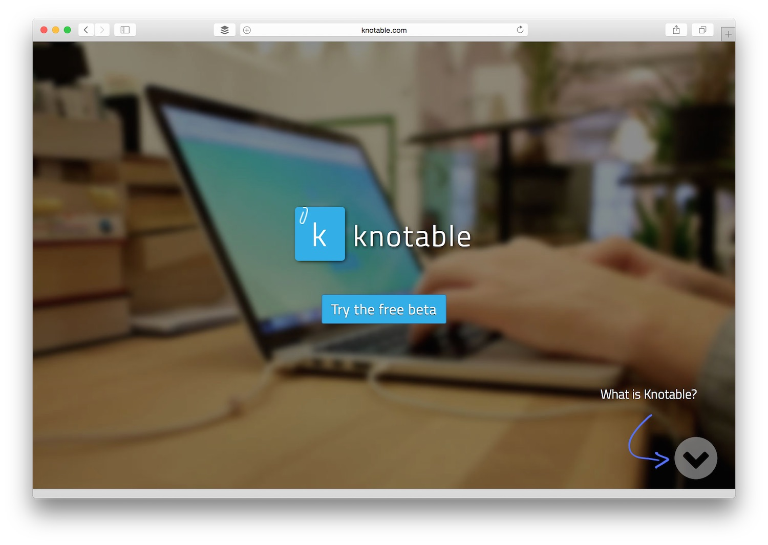 Knotable Home Page