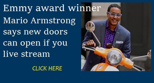 Mario Armstrong LivestreamedLivelihoods