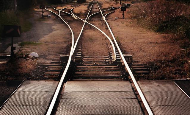 Jan Flaska - Railroad Tracks - South Bohemia