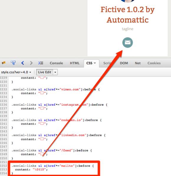 Fictive 1 0 2 by Automattic tagline