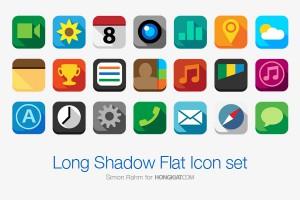 app icons flat