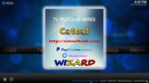Build Catoal para kodi